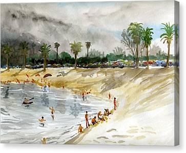 Mission Bay 1 Canvas Print