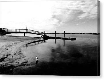Mission Bay Dock Canvas Print