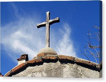 Mission Cross Canvas Print by Shoal Hollingsworth