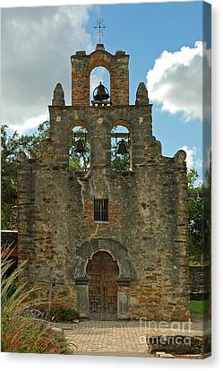Canvas Print featuring the photograph Mission Espada by Olivia Hardwicke