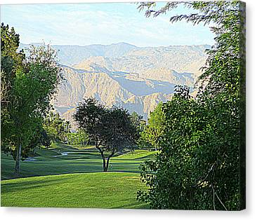 Mission Hills Golf Canvas Print by Randall Weidner
