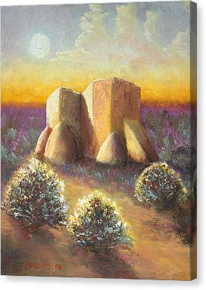 Mission Imagined Canvas Print by Jerry McElroy