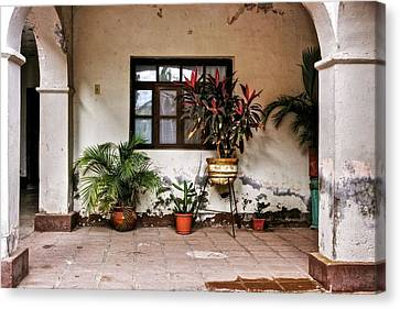 Canvas Print featuring the photograph Mission Nuestra Senora De Loreto Concho by Kandy Hurley