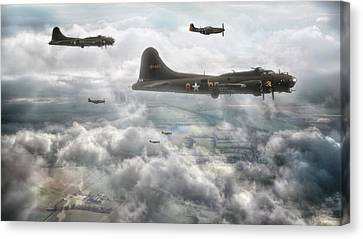 Mission On Canvas Print
