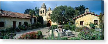 Mission San Carlos Borromeo De Carmelo Canvas Print by Panoramic Images