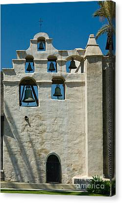 Mission San Gabriel Arcangel Canvas Print by Richard and Ellen Thane