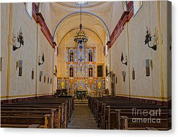Mission San Jose Canvas Print