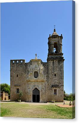 Mission San Jose Sa Canvas Print by Christine Till