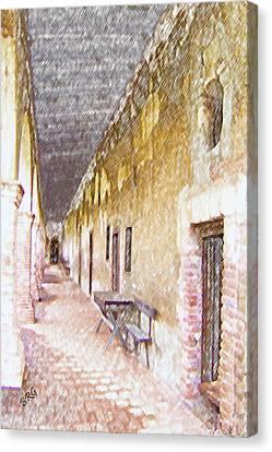 Mission San Juan Capistrano No 5 Canvas Print by Ben and Raisa Gertsberg
