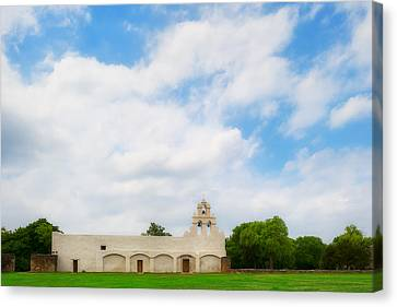 Mission San Juan Capistrano - Texas Canvas Print by Ryan Manuel