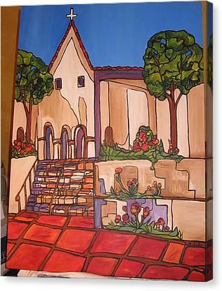 Mission San Luis Opispo Canvas Print by Michelle Gonzalez