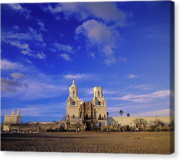 Mission San Xavier Del Bac, Tucson Canvas Print by Howie Garber