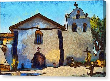 Mission Santa Ines Canvas Print
