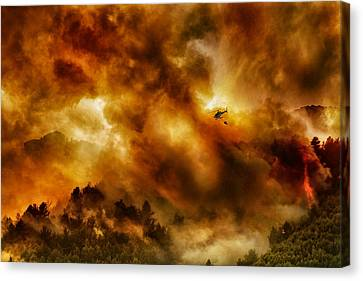 Missione Impossibile... Canvas Print