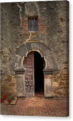 Missions Of San Antonio Canvas Print by Cindy Rubin