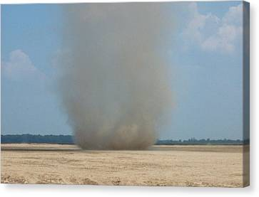 Mississippi Dust Devil Canvas Print