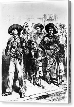 Missouri Cattlemen, 1884 Canvas Print by Granger