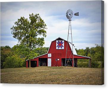 Missouri Star Quilt Barn Canvas Print