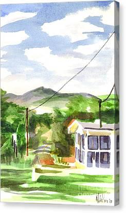 Missouri View II Canvas Print by Kip DeVore