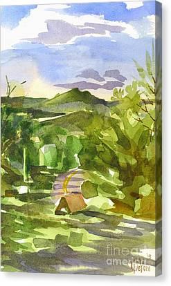 Missouri View Canvas Print by Kip DeVore