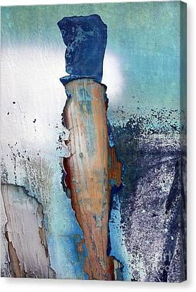 Mister Blue Canvas Print by Robert Riordan
