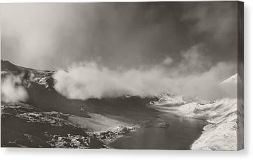 Mistic Mountain Canvas Print