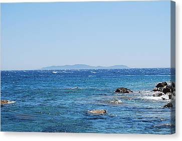 Canvas Print featuring the photograph Mistral.force 6 by George Katechis