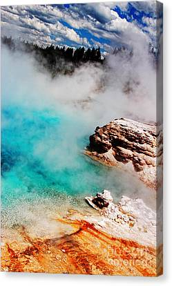 Mists Of Another World Canvas Print by Lincoln Rogers