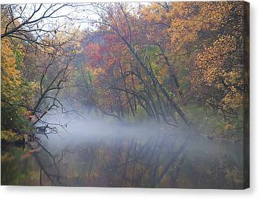 Mists Of Time Canvas Print by Bill Cannon