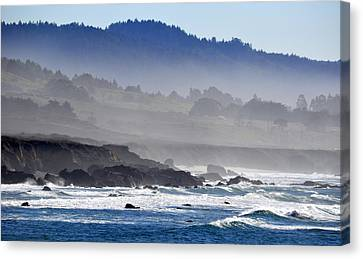 Misty Coast Canvas Print