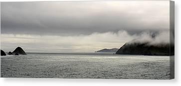 Misty Day On The Blasket Islands Canvas Print by Barbara Walsh