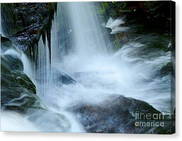Misty Falls - 73 Canvas Print