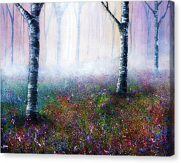 Misty Memories Canvas Print by Ann Marie Bone