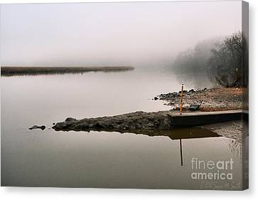 Misty Morning Calm Canvas Print