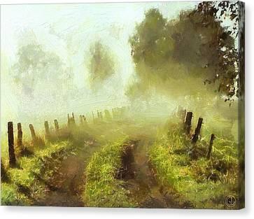 Misty Morning Canvas Print by Gun Legler
