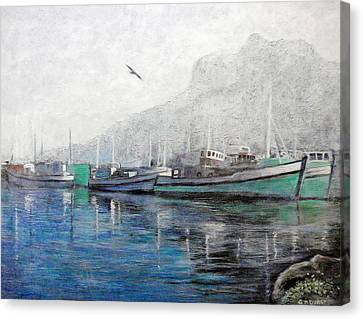 Canvas Print - Misty Morning In Hout Bay by Michael Durst