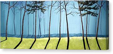 Sofa Size Canvas Print - Misty Pines by Michael Dillon