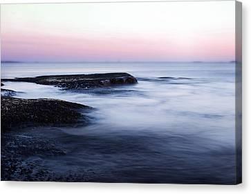Misty Sea Canvas Print by Nicklas Gustafsson