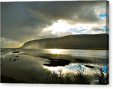 Misty Westfjords Canvas Print by Bob Berwyn