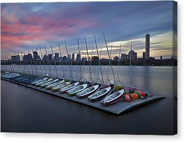 Mit Sailing Pavilion Canvas Print by Eric Gendron