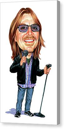 Mitch Hedberg Canvas Print by Art