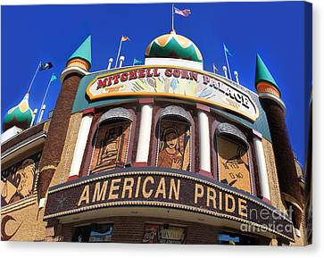 Mitchell Corn Palace - 01 Canvas Print by Gregory Dyer