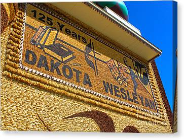 Mitchell Corn Palace - 04 Canvas Print by Gregory Dyer
