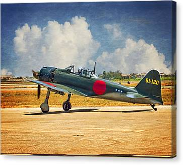 Mitsubishi Zero Fighter Canvas Print