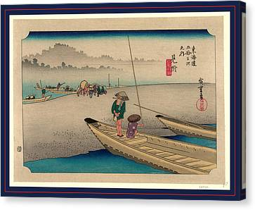 Mitsuke, Ando Between 1833 And 1836, Printed Later Canvas Print by Utagawa Hiroshige Also And? Hiroshige (1797-1858), Japanese