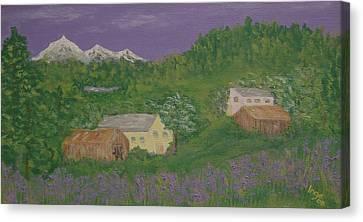 Mittersill  Austria Canvas Print by Inge Lewis