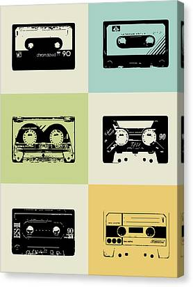 Mix Tape Poster Canvas Print
