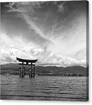 Miyajima Canvas Print - Miyajima Tori by Alex Snay