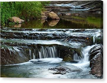 Miykovska River 1 Canvas Print
