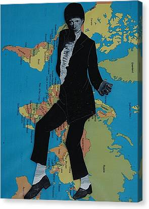 Mj Billie Jean Canvas Print